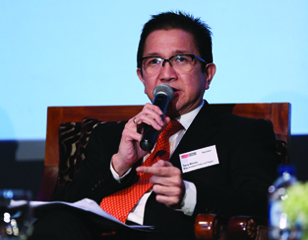 Tony Wenas of PT. Riau Andalan Pulp & Paper
