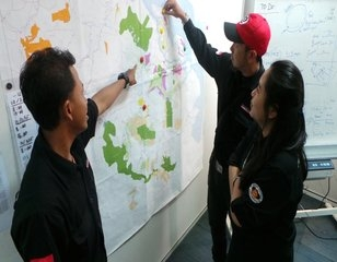 Forest Fire Monitoring Room