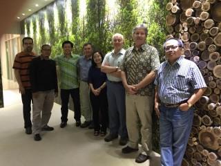 SAC members and APRIL team